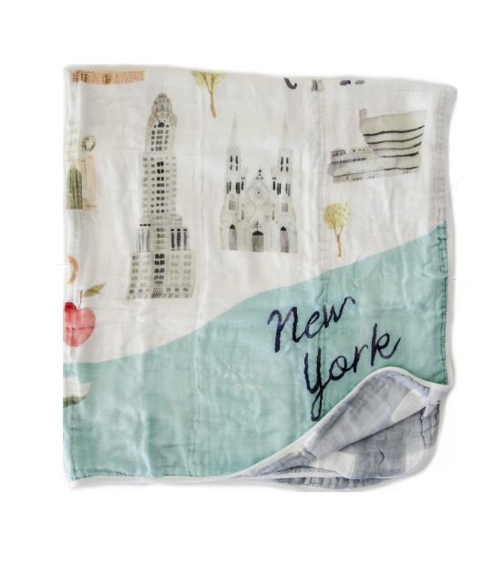 NYC Quilt Blanket