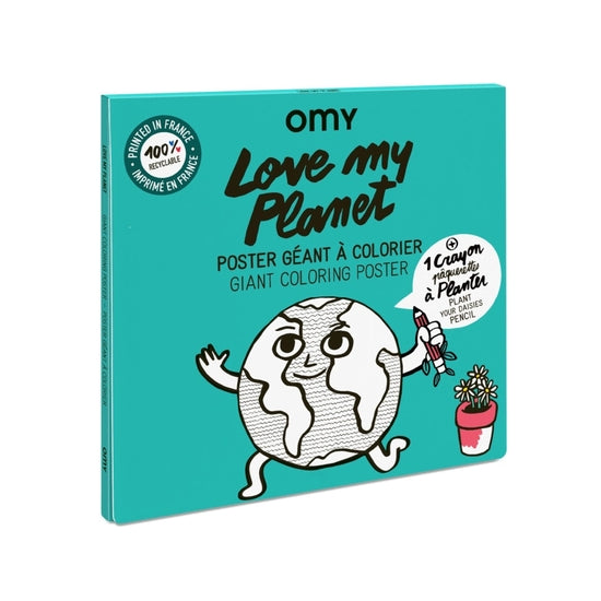 OMY Love My Planet Poster Giant