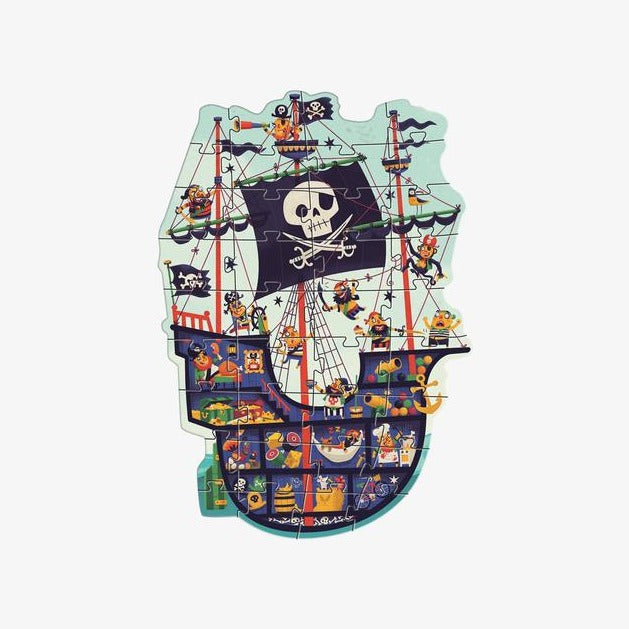 Djeco Giant Floor Pirate Ship