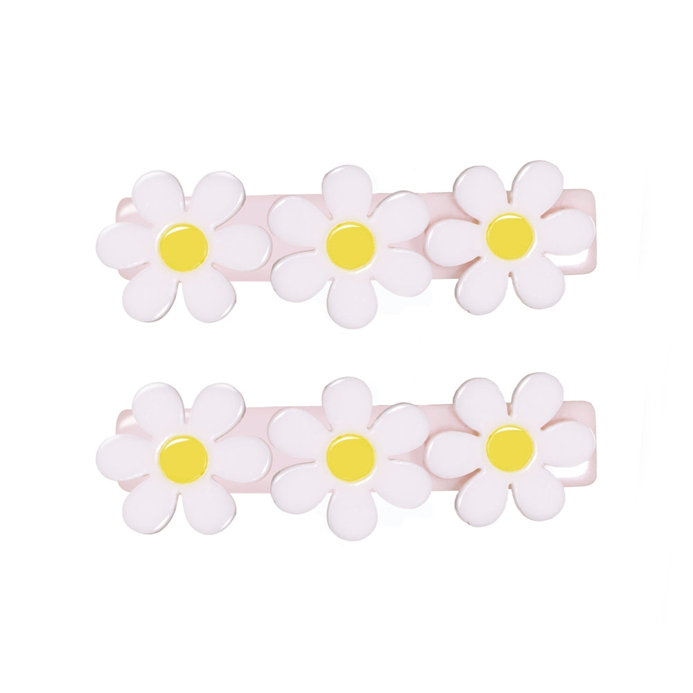 Lilies & Roses Daisy Alligator Clips