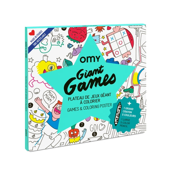 OMY Games Poster Giant