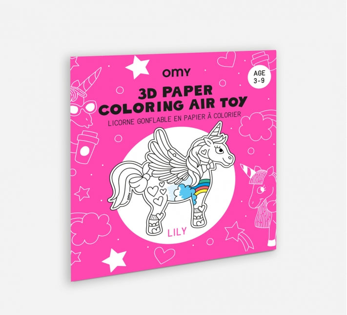 OMY 3D Coloring Toy - Lily