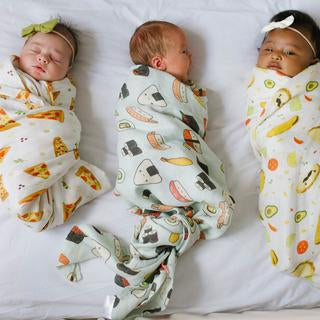 Loulou Lollipop Bamboo Swaddle-Sushi