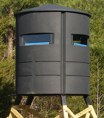 Sportsman's Condo SC3 66 in  diameter Hunting Blind: Black, Loaded