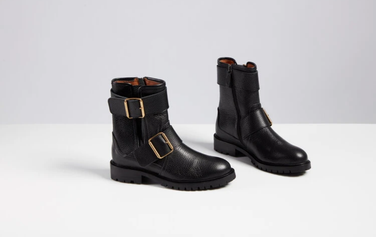 Five Ways To Wear Biker Boots The Edit Made The Edit Made The Edit