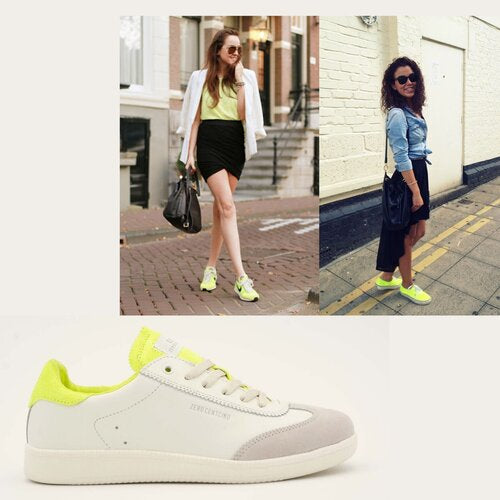 How to style neon trainers