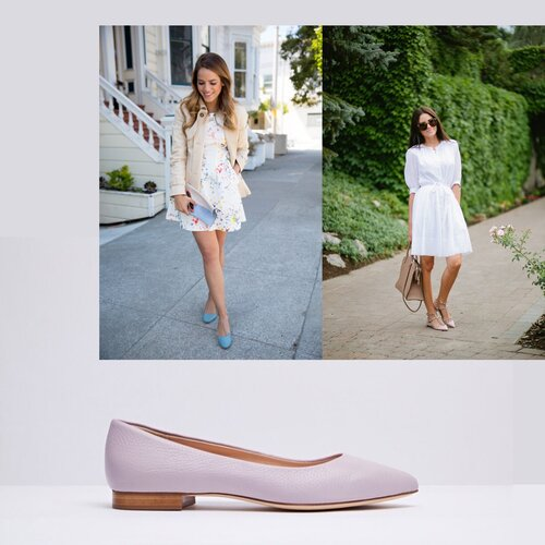 How to style pastel flats