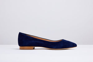 Kate Navy Suede