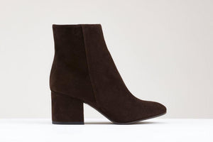 Annie Dark Brown Suede