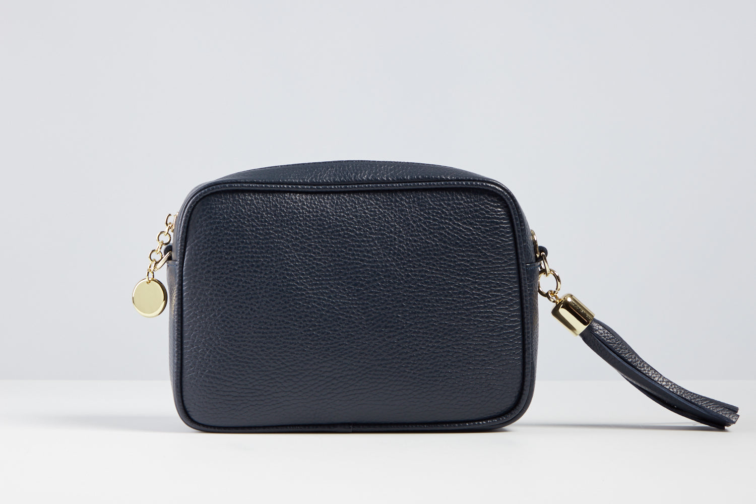 Sophia Navy Tassel Bag
