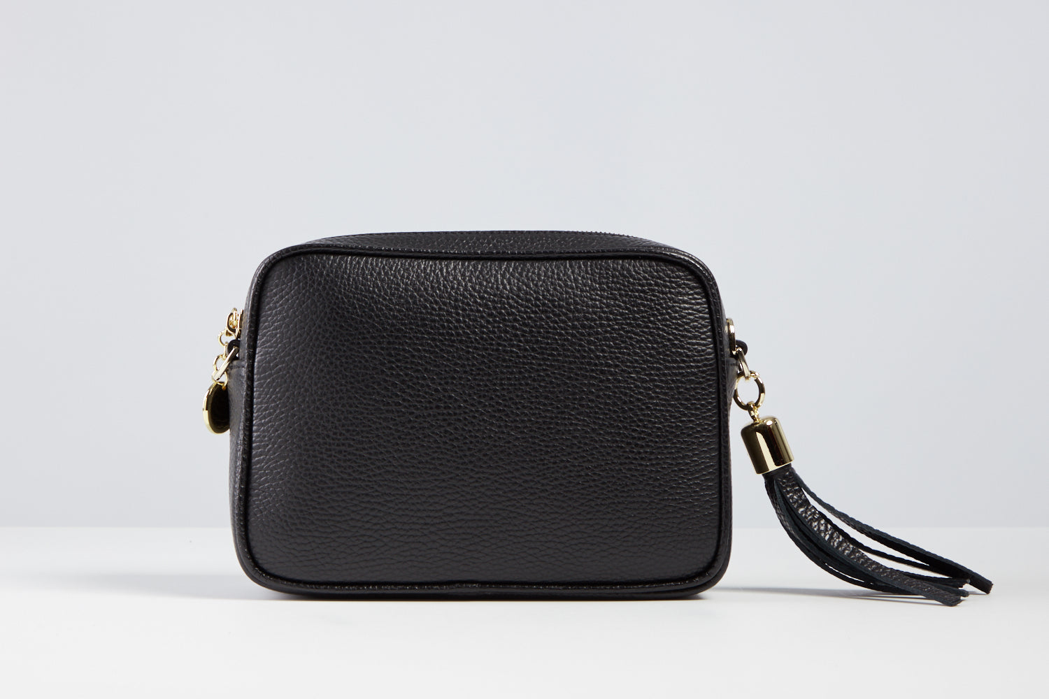 Sophia Black Tassel Bag