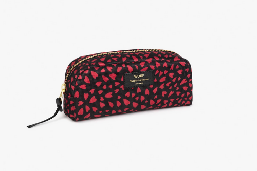 Hearts Small Make up Bag