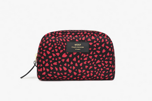 Hearts Large Make up Bag