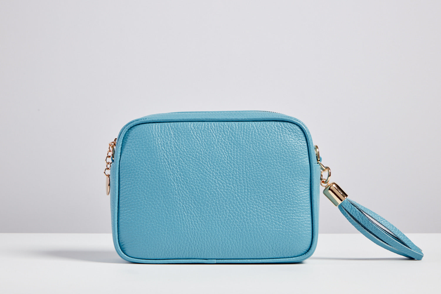Sophia Sky Blue Tassel Bag