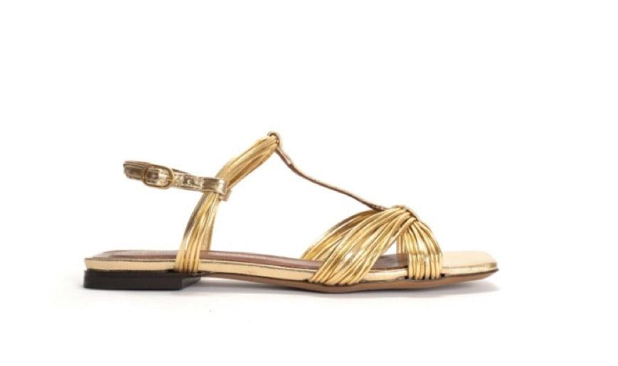 Alessandra Gold Metallic