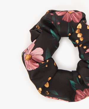 Hair Scrunchie Leopard and Peach
