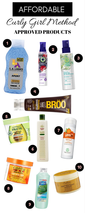10 Amazing & Cheap Products: Curly Girl Method on a Budget