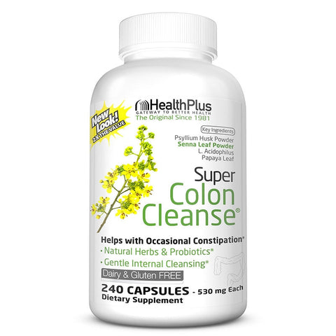 Free shipping super colon cleanse 240 pcs