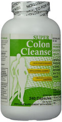 Free shipping Super Colon Cleanse, 500mg, 240 pcs