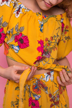Floral Print Co-Ord - Yellow