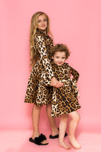 Shirt Dress - Leopard Print