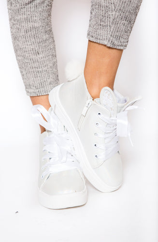 Bunny Sneakers - White