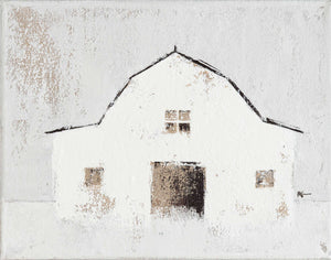 Barn: White - Horizontal