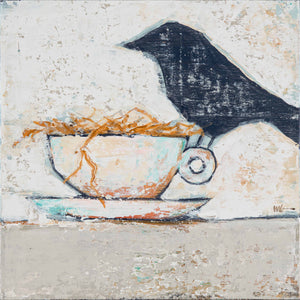 Bird on Teacup