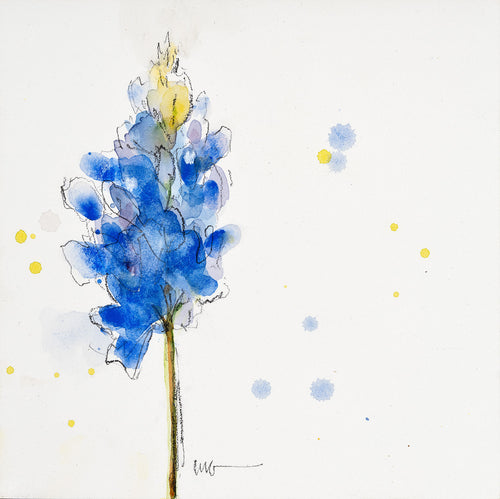 Bluebonnet Watercolor