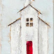 Church: Red and Aqua
