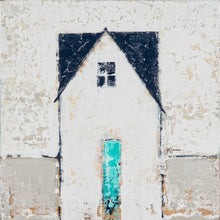 Cottage with Turquoise Door