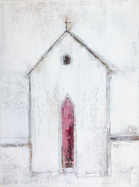 Church: Dark Pink Door