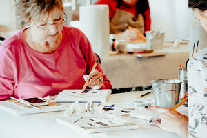 Layer by Layer: Acrylic and Mixed Media 3-Day Workshop in Abilene Texas - May 20-22