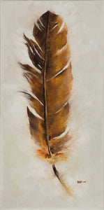 Feather: Brown