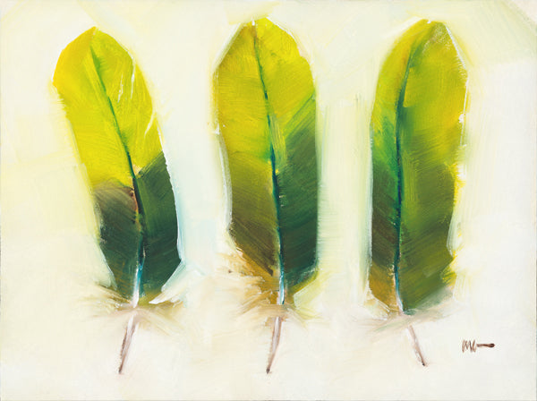 Green Feathers