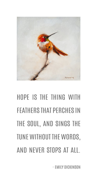 Hummingbird - Hope