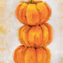 Pumpkin Stack - Light Background