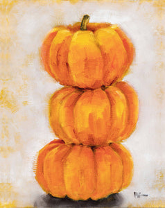 Pumpkin Stack - Neutral Background