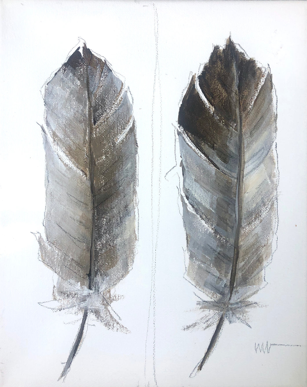 Two Feathers Study 2