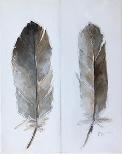 Two Feathers Study 3