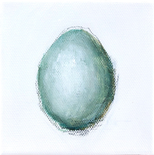 Egg on White