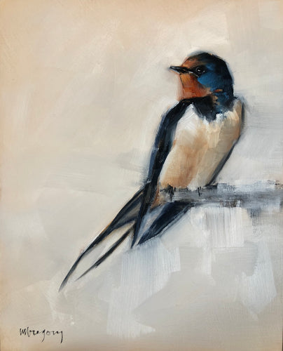Wings at My Window: Barn Swallow