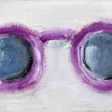 Vintage Sunglasses: Purple