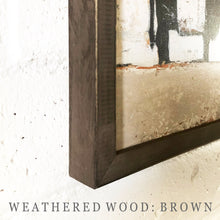 Weathered Wood: Brown