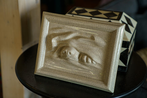 Dog Cremation Urn for Ashes by Pulvis
