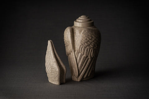 Ceramic urns for ashes by Pulvis Art Urns