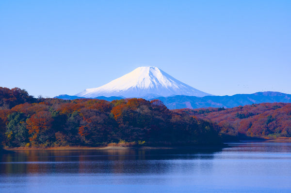 Japan mount Fuji (Cremation is on the rise article  by Pulvis Art Urns)