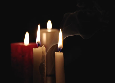 Memorial Candles for Grief. Blog article from the blog All About Urns And Cremation