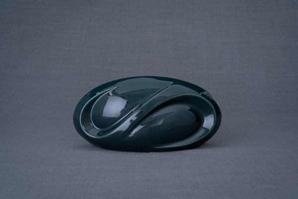 Eternity Cremation Keepsake for Ashes – Oxide Green | Small | Ceramic