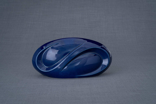 Eternity Cremation Keepsake for Ashes – Cobalt Metallic | Small | Ceramic